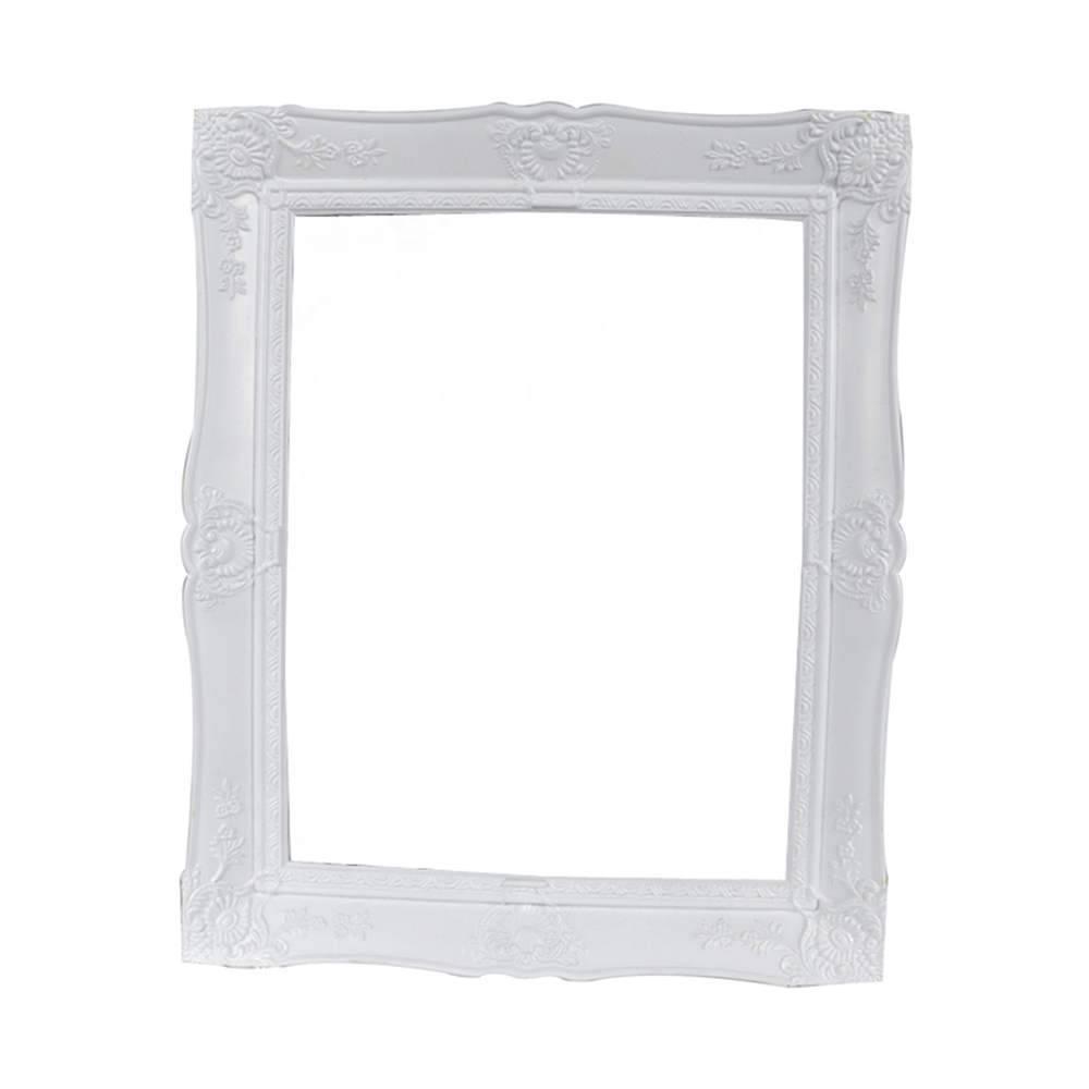 Porta-Retrato New Cirque Branco em Polipropileno - Urban - 25x20 cm