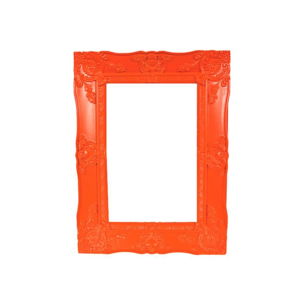 Porta-Retrato New Cirque Laranja em Polipropileno - Urban - 15x10 cm