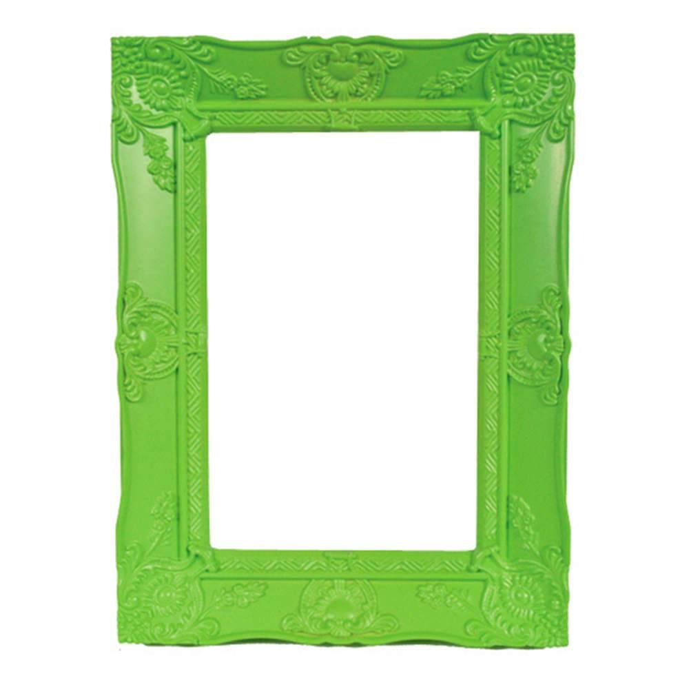 Porta-Retrato New Cirque Verde em Polipropileno - Urban - 15x10 cm