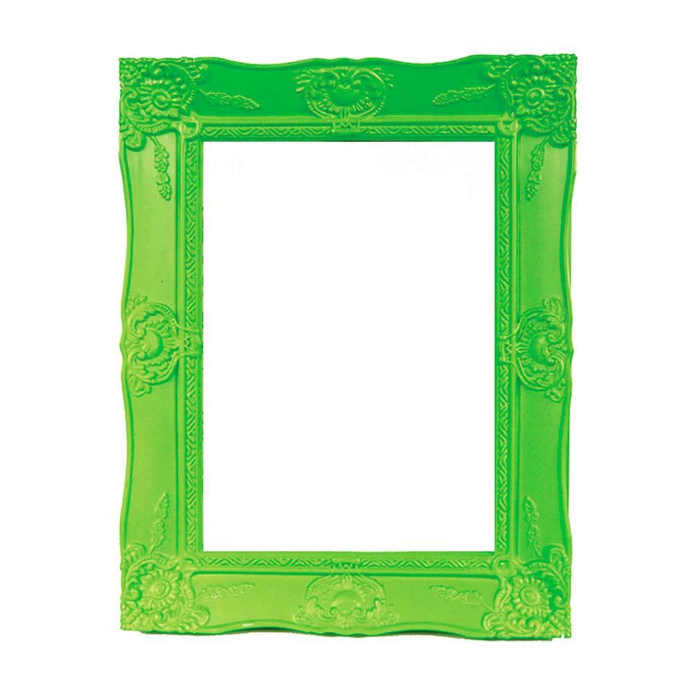 Porta-Retrato New Cirque Verde em Polipropileno - Urban - 18x13 cm