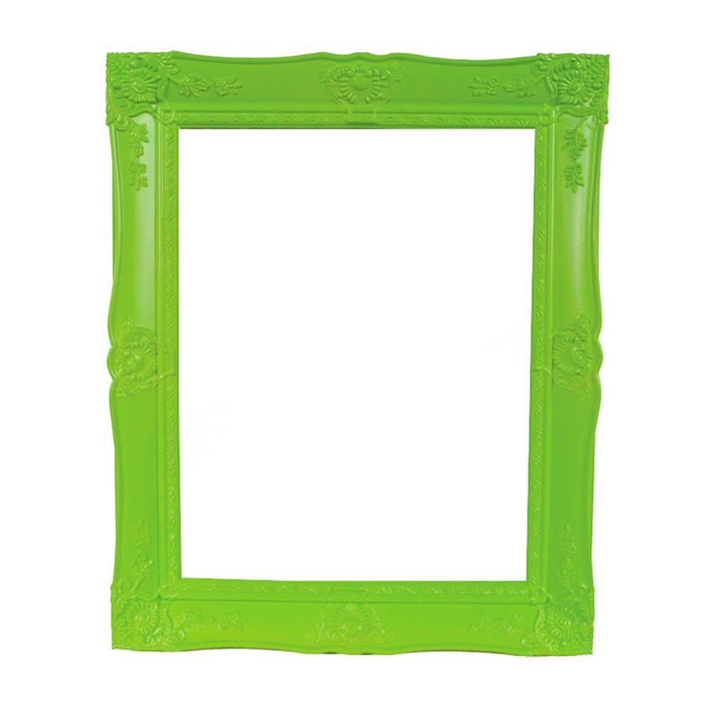 Porta-Retrato New Cirque Verde em Polipropileno - Urban - 25x20 cm