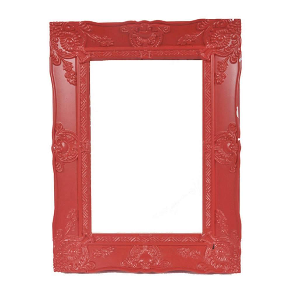 Porta-Retrato New Cirque Vermelho em Polipropileno - Urban - 15x10 cm