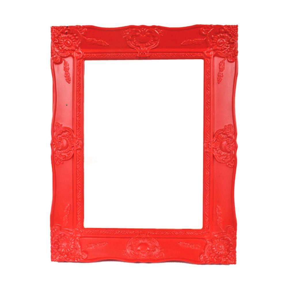 Porta-Retrato New Cirque Vermelho em Polipropileno - Urban - 18x13 cm