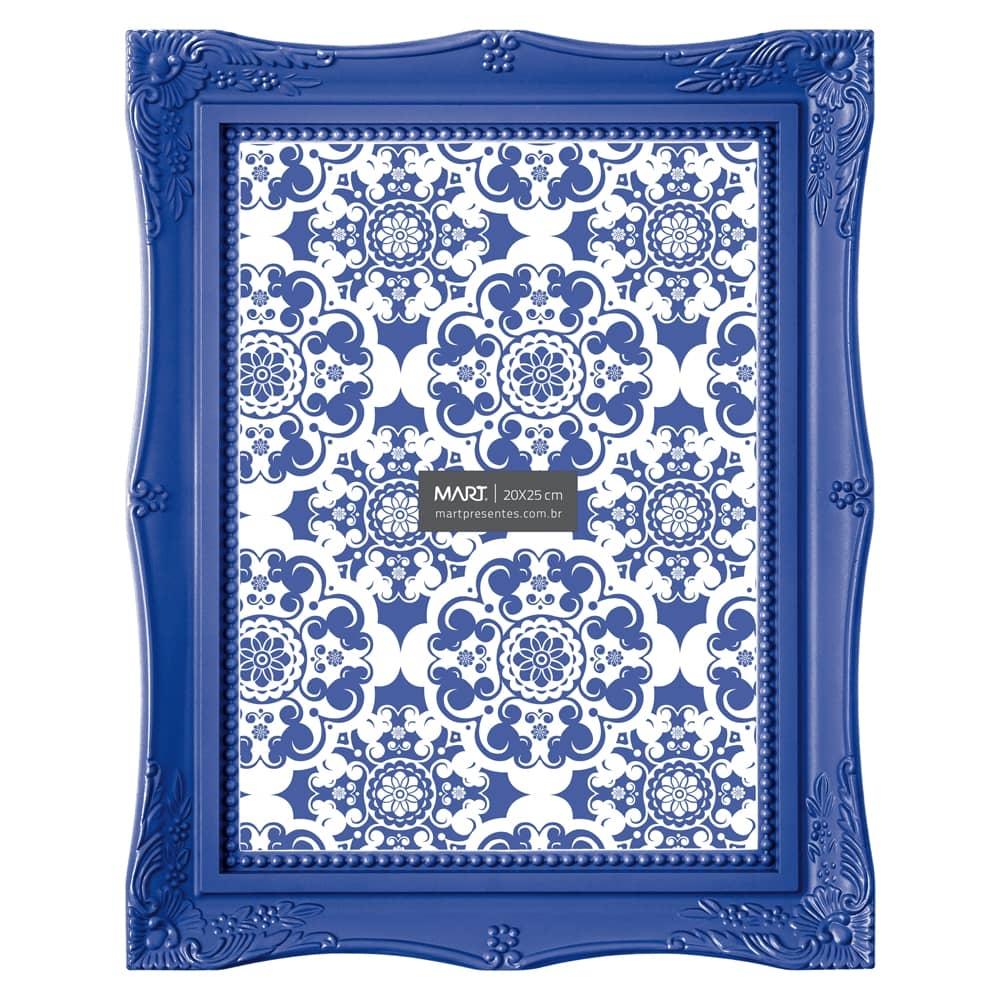 Porta-Retrato Frame - Foto 20x25 cm - Azul Royal - 29,5x24,5 cm