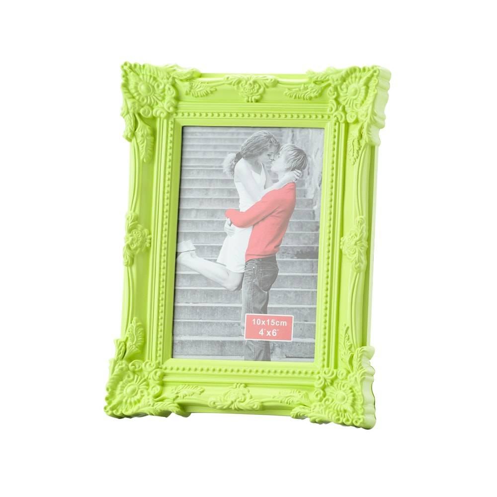 Porta-Retrato Retrô Verde p/ Foto 13x18 cm - Lyor Classic - 23x18 cm