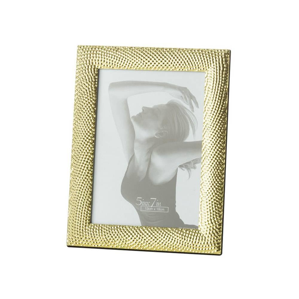 Porta-Retrato Rope Dourado para Foto 13x18 cm - Lyor Classic - 22x17 cm