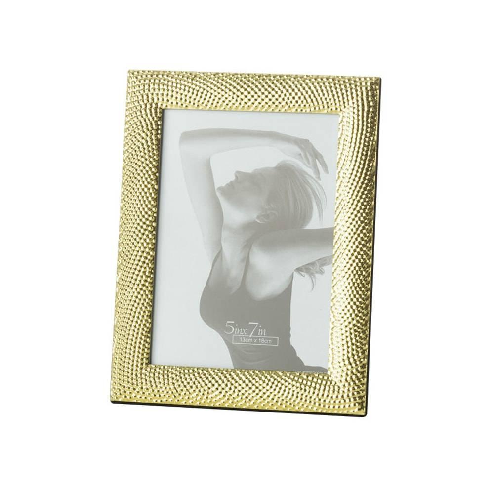 Porta-Retrato Rope Dourado para Foto 20x25 cm - Lyor Classic - 29x24 cm