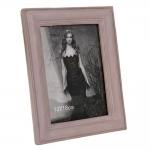 Porta-Retrato Rosa Envelhecido - Foto 13x18 cm - em Resina