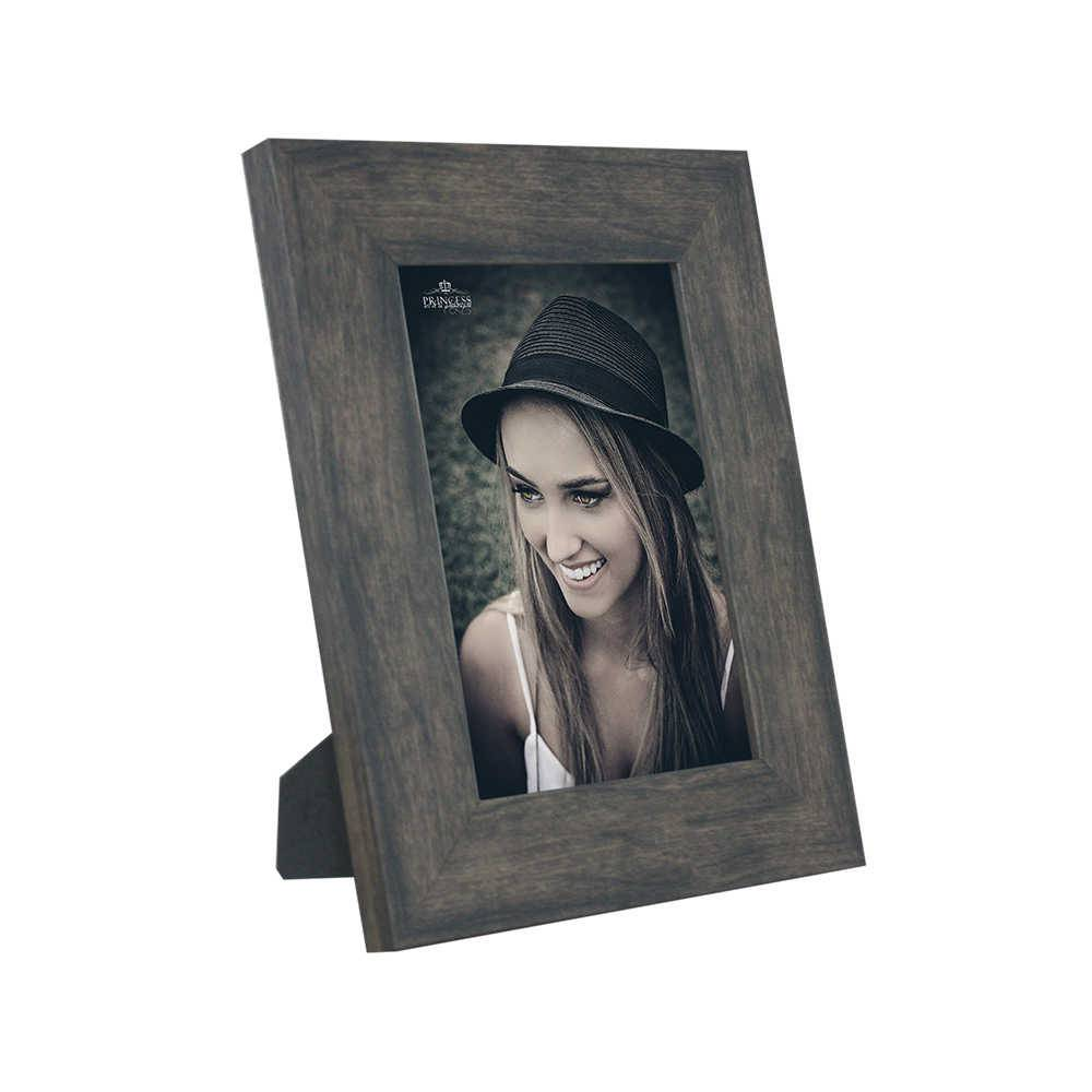 Porta-Retrato Rustic Wood - 13x18 - em Madeira - 22x17,5 cm