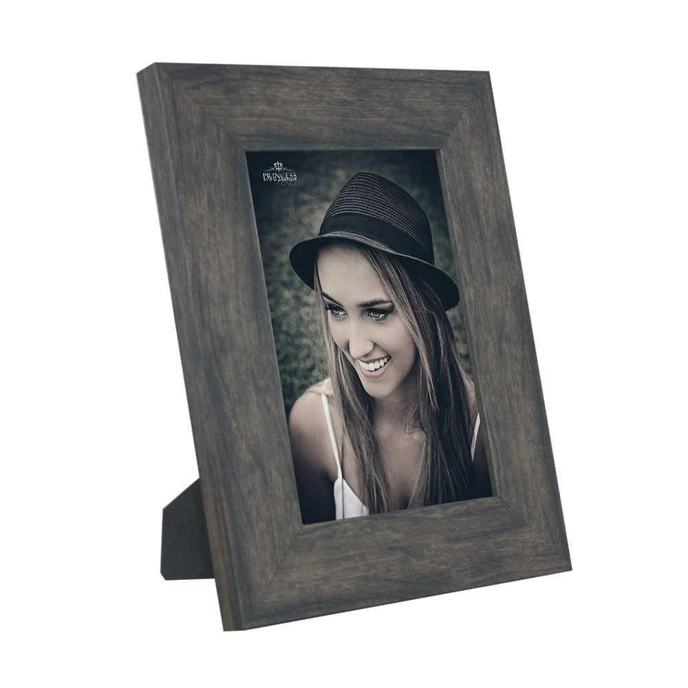 Porta-Retrato Rustic Wood - 15x21 - em Madeira - 25x19,5 cm