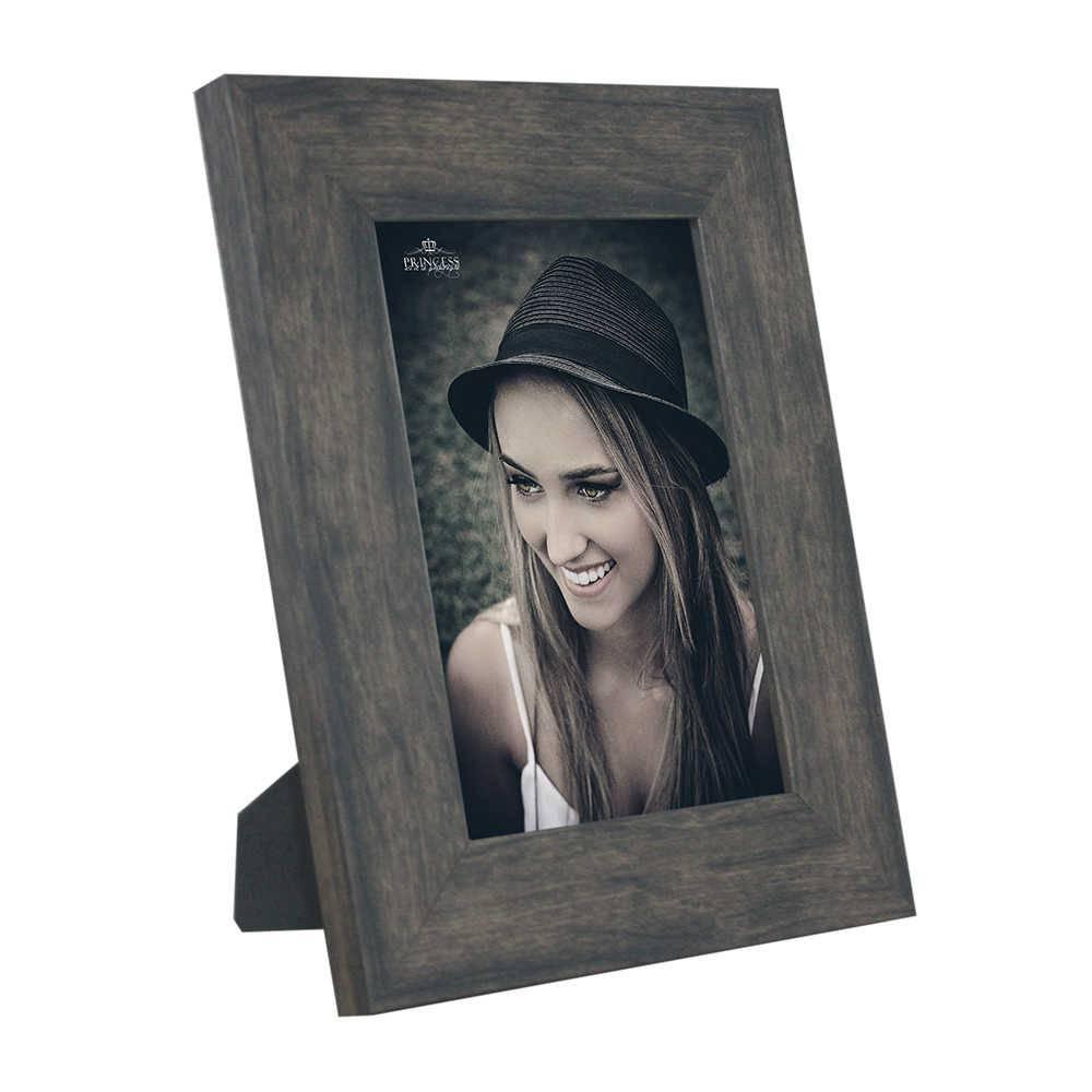 Porta-Retrato Rustic Wood - 20x30 - em Madeira - 34x24,5 cm