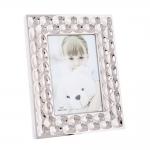 Porta-Retrato Scale - Foto 10x15 cm - Prata em Alumínio