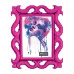 Porta-Retrato Scorpion - Foto 10x15 cm - Rosa Pink - 24,5x19,5 cm