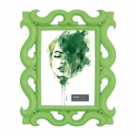 Porta-Retrato Scorpion - Foto 10x15 cm - Verde - 24,5x19,5 cm