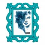 Porta-Retrato Scorpion - Foto 13x18 cm - Azul - 27x22 cm