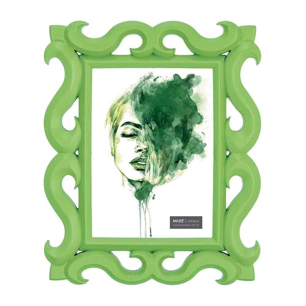 Porta-Retrato Scorpion - Foto 13x18 cm - Verde - 27x22 cm