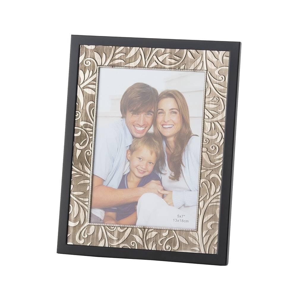 Porta-Retrato Tribus em Alumínio para Foto 10x15 cm - Lyor Classic - 20x15 cm