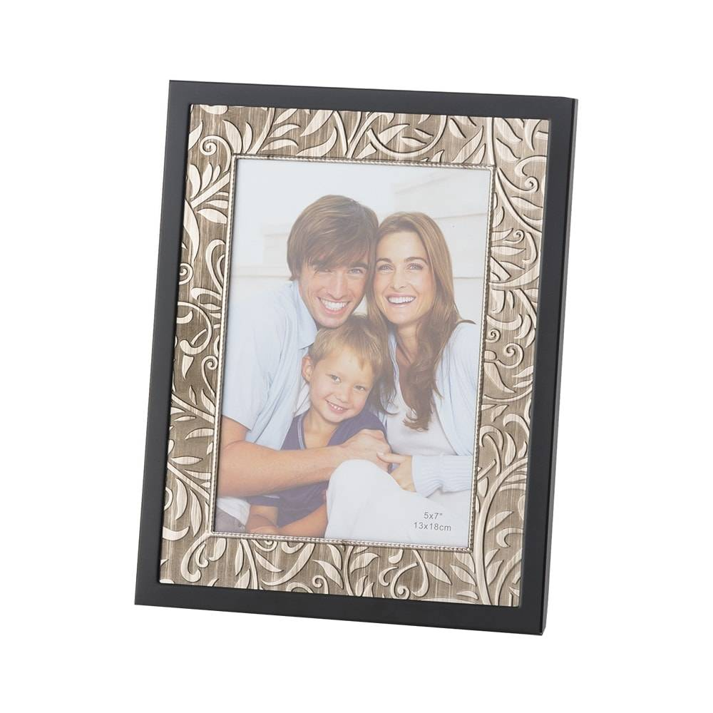 Porta-Retrato Tribus em Alumínio para Foto 15x20 cm - Lyor Classic - 24x19 cm