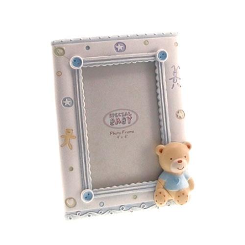 Porta-Retrato Urso Azul - 20x15 cm