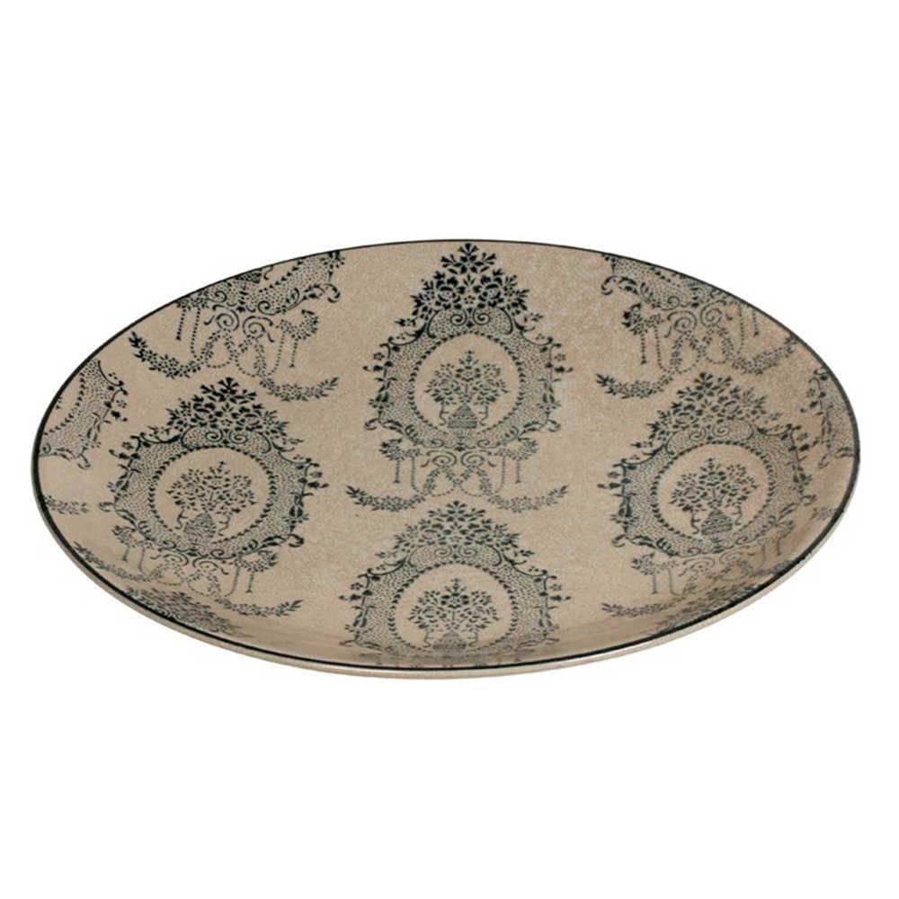 Prato Decorativo Lauren em Porcelana - de Parede - 36x3 cm