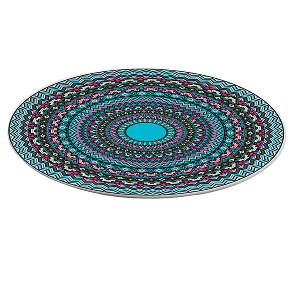 Prato Giratório Asteca Colorido em Melamina - Urban - 39,3 cm