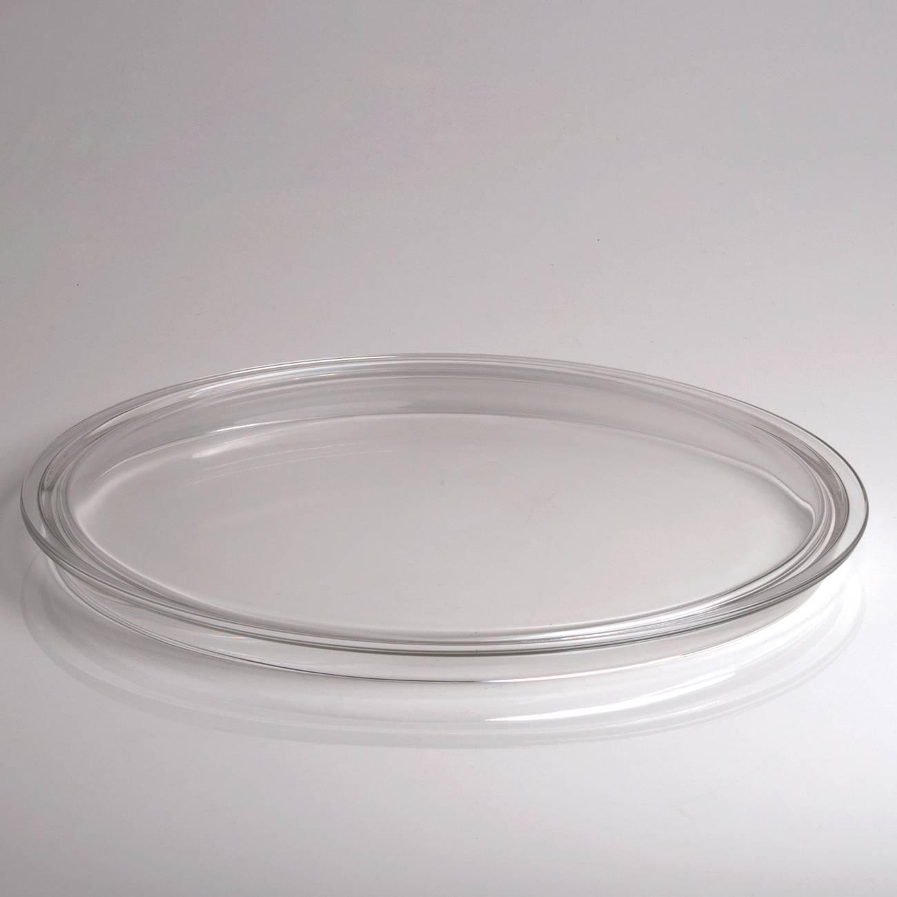 Prato para Bolo Rialto em Vidro - 32x2 cm