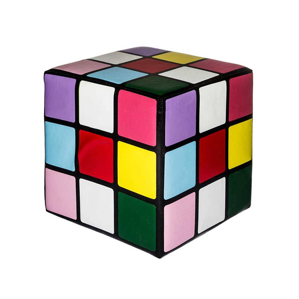 Puff Infantil Cubo Mágico - Urban - 30x30 cm