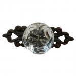 Puxador Cristal em Metal