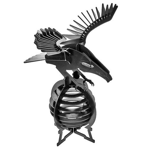Puzzle / Peças para Montagem - Àguia Grande - Feito de Psai / 30x42 cm