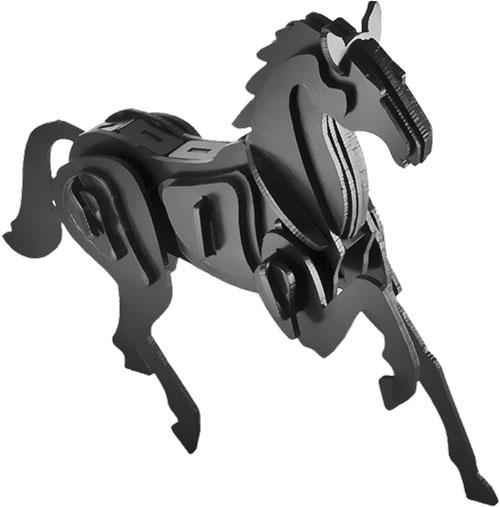 Puzzle / Peças para Montagem - Cavalo Pequeno - Feito de Psai / 20x18 cm