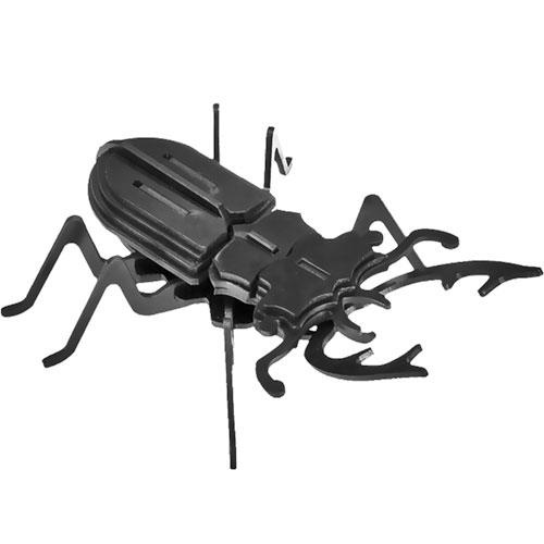 Puzzle / Peças para Montagem - Escaravelho Pequeno - Feito de Psai / 19x7 cm