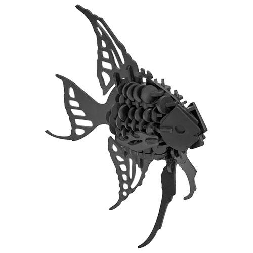 Puzzle / Peças para Montagem - Peixe Pequeno - Feito de Psai / 19x19 cm