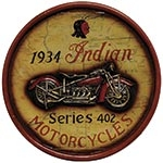 Quadro 1934 Indian Motorcycles Oldway