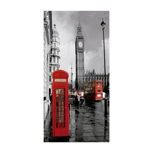 Quadro 3D London - Big Ben em Alumínio - 70x40 cm