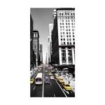 Quadro 3D New York City em Alumínio