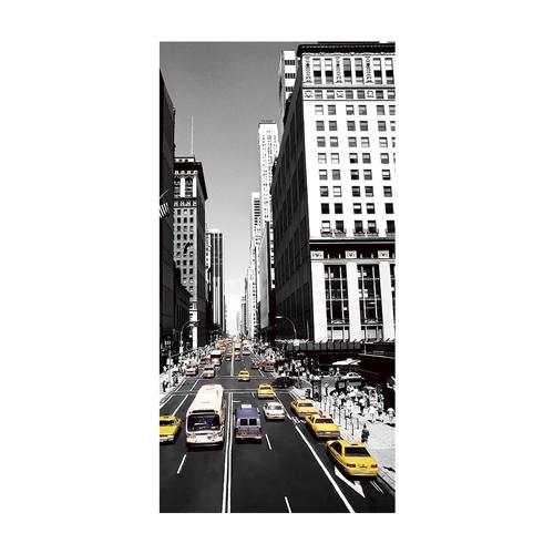 Quadro 3D New York City em Alumínio - 70x40 cm