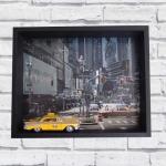 Quadro 3D taxi NY