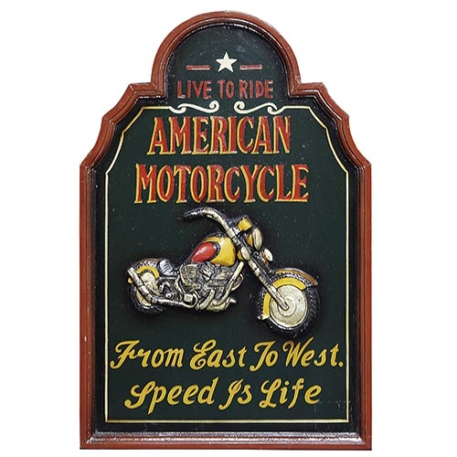 Quadro American Motorcycle Oldway - 60x40 cm