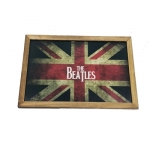 Quadro bandeira UK the beatles