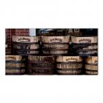 Quadro Barril Jack Daniels Impresso em MDF - 100x50 cm