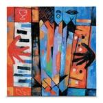 Quadro em Canvas Acordeom - Colors