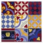Quadro em Canvas Arabescos Florais