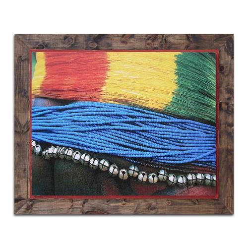 Quadro em Canvas Artesanatos em Madeira - 94x75 cm