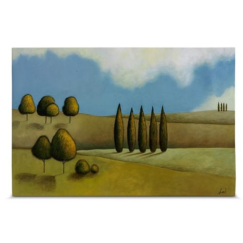 Quadro em Canvas Árvores no Campo - 60x40 cm