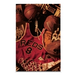 Quadro em Canvas Basketball Objects