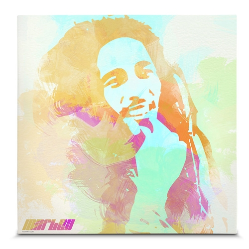 Quadro em Canvas Bob Marley - 45x45 cm