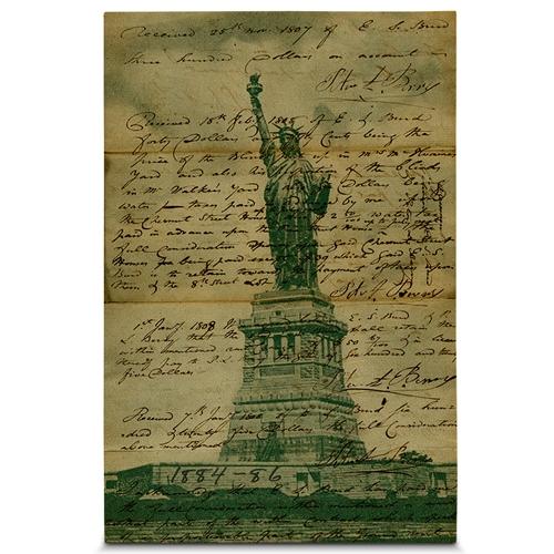 Quadro em Canvas Carta de Liberdade - 60x40 cm