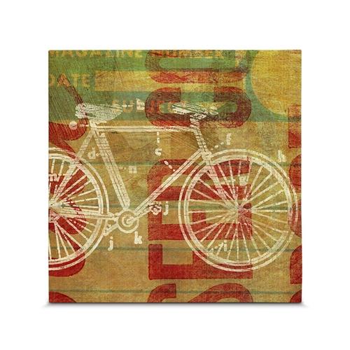 Quadro em Canvas Ciclos por Segundo - 35x35 cm