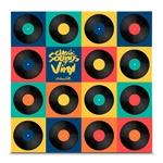 Quadro em Canvas Classic Sounds of Vinyl - Colors