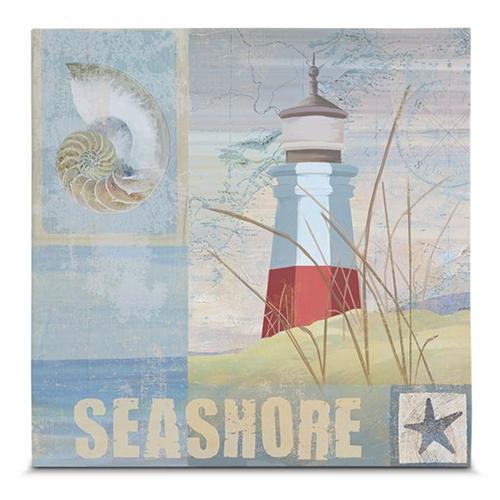 Quadro em Canvas Costeira do Farol  - 35x35 cm